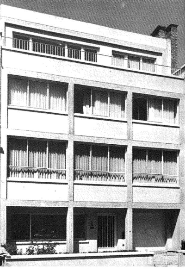 Maison Hamaide d'Odette Filipino (1951), rue Jules Lejeune<br>