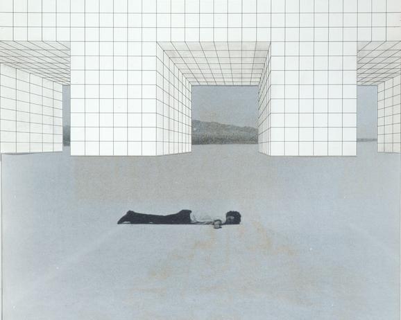 Superstudio, Il Monumento Continuo, 1969 – 1970, Con de Maria, 1969.