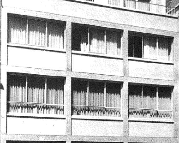 Maison Hamaide d'Odette Filipino (1951), rue Jules Lejeune